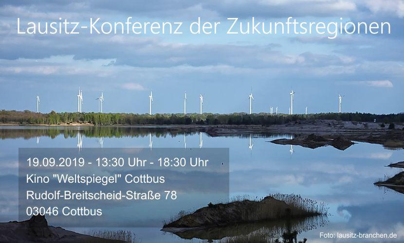 Lausitz-Konferenz der Zukunftsregionen