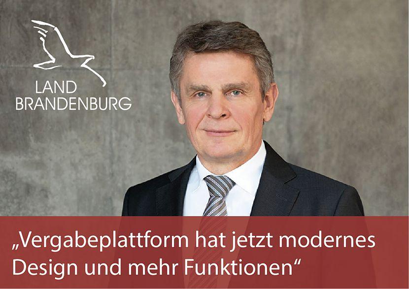 Vergabeplattform Brandenburg erneuert