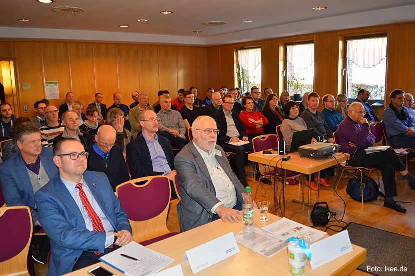 Rund 70 interessierte Zuhörer folgten den zwölf Fachvorträgen der bundesweit angereisten Referenten zu den neuesten wissenschaftlichen Erkenntnisse zum Klimawandel und seinen regionalen Auswirkungen