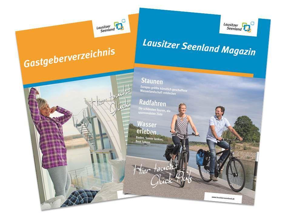 Neues Urlaubsmagazin und Gastgeberverzeichnis des Tourismusverbandes Lausitzer Seenland e.V.