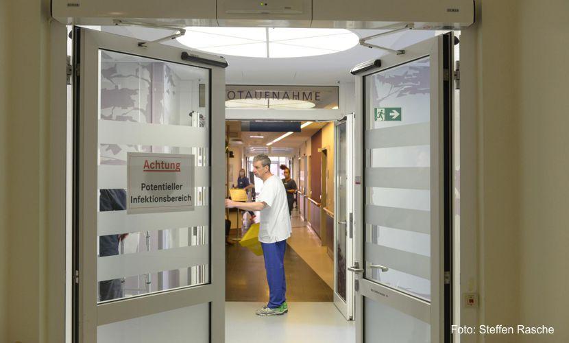 Klinikum Niederlausitz ist auf Corona-Infektionen vorbereitet