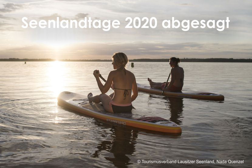 Seenlandtage 2020 abgesagt