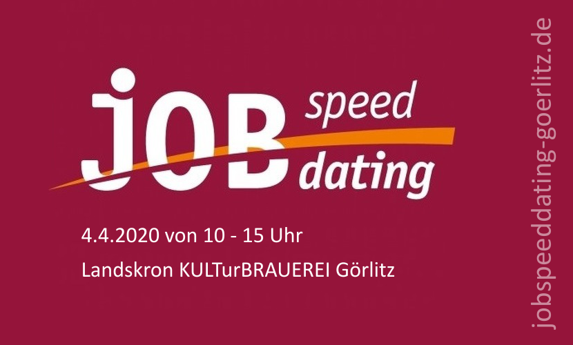 11. Job-Speed-Dating in Görlitz - Jetzt anmelden!