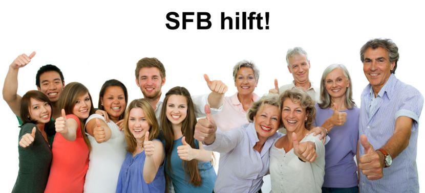 SFBhilft! Einkaufshotline für Hilfsbedürftige in Senftenberg