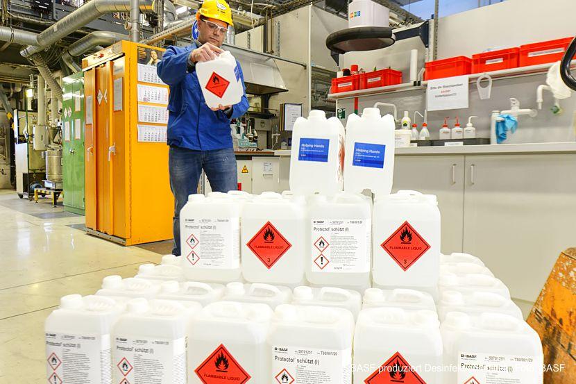 BASF in Schwarzheide schließt sich Aktion Helping Hands an