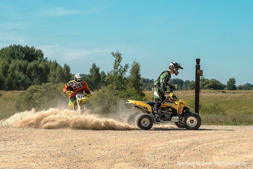 Illegale Quad- und Motocrossfahrer im Naturpark Dahme-Heideseen