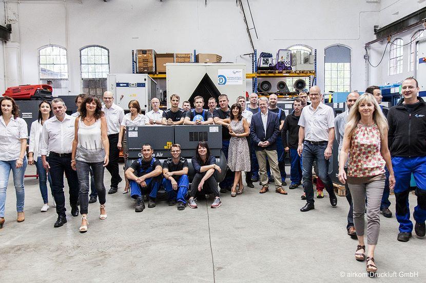 20 Jahre airkom Druckluft GmbH in Wildau