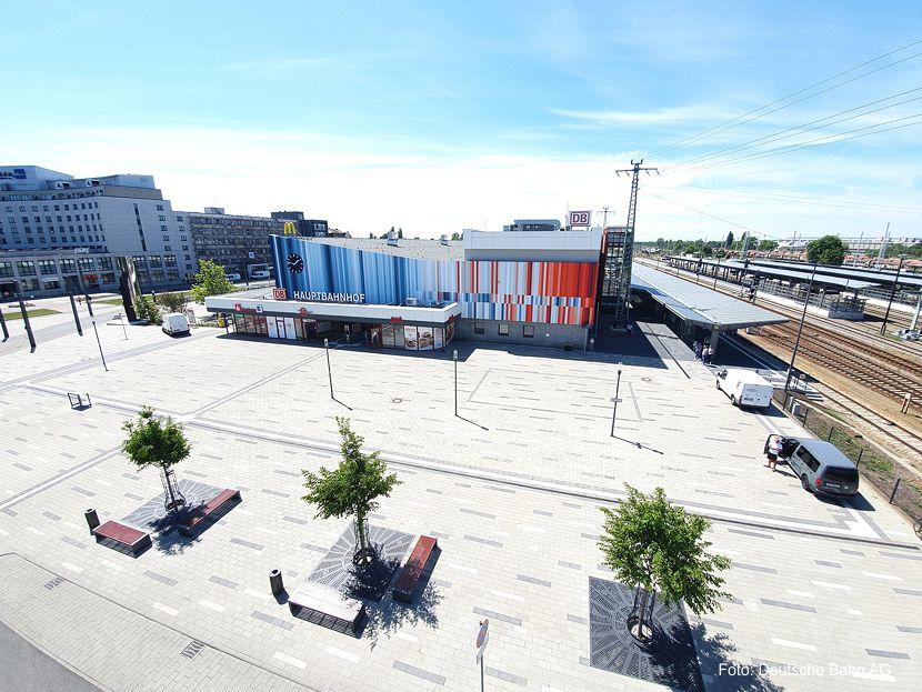 Neuer Glanz für den Zukunftsbahnhof Cottbus