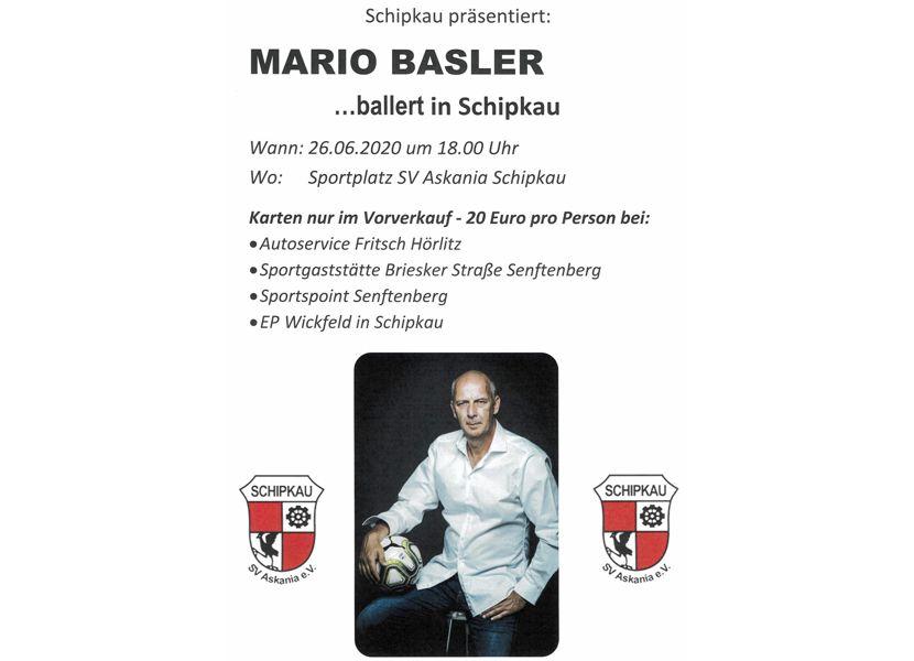 Kultkicker Mario Basler in Schipkau