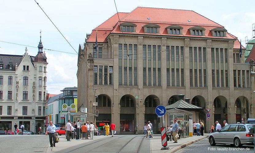 Kooperationsgespräche mit der Hochschule Zittau/Görlitz für das Projekt Aus- und Weiterbildungszentrum für filmhandwerkliche Berufe im Kaufhaus Görlitz