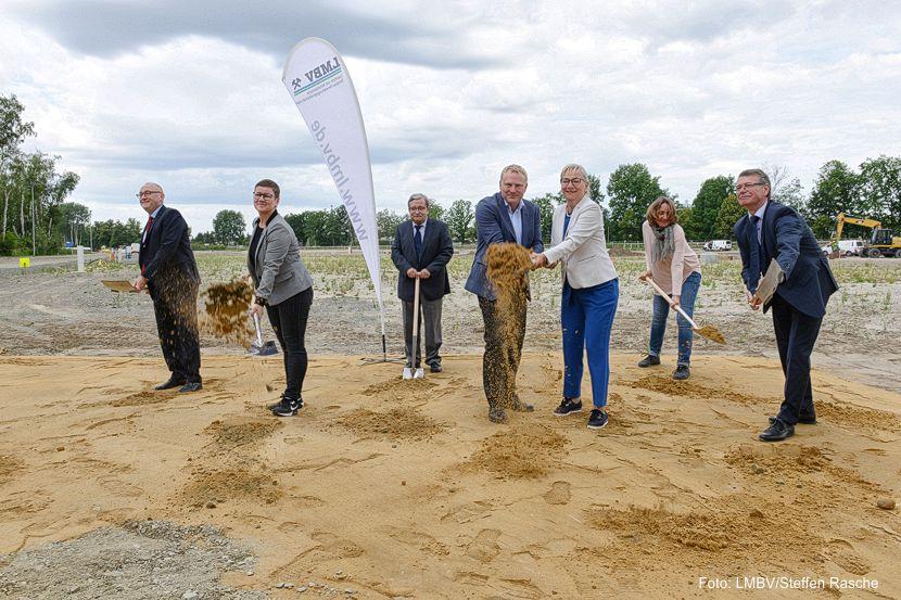 Baustart Wasserbehandlungsanlage Plessa