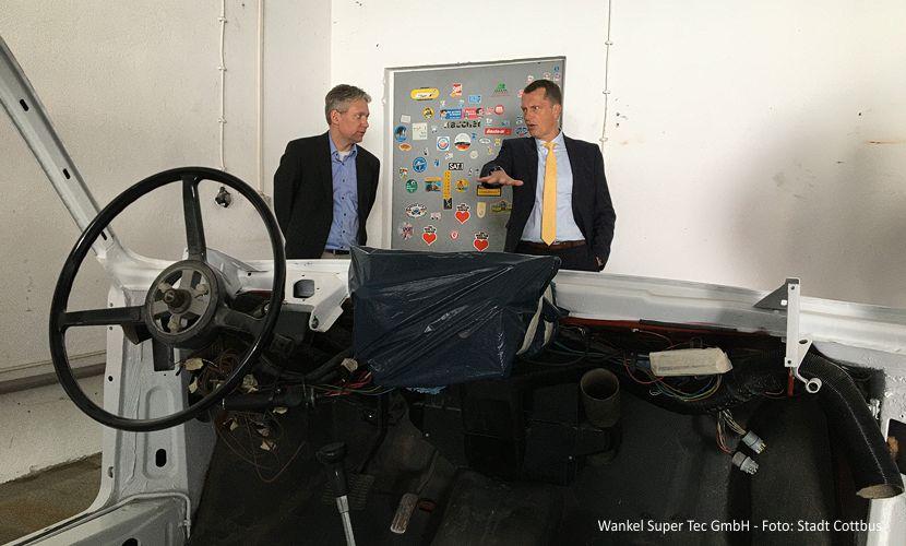 Besuch bei der Wankel SuperTec GmbH