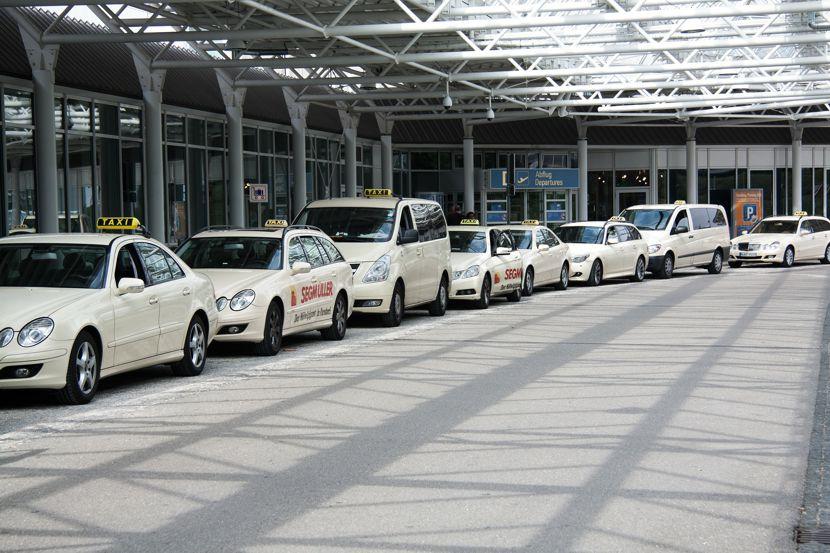 Einigung zum Taxenverkehr am Flughafen Berlin-Brandenburg