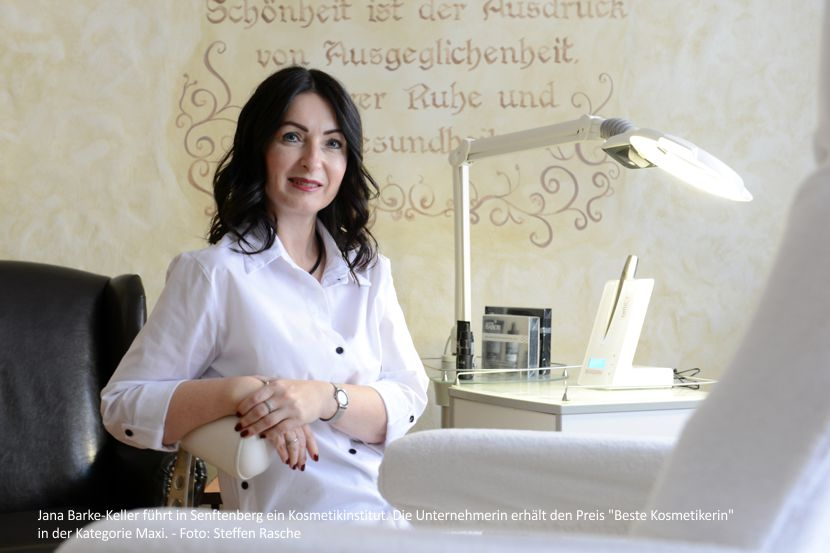 Eine der besten Kosmetikerinnen Deutschlands kommt aus Senftenberg