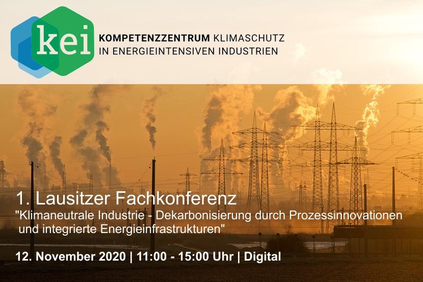 1. Lausitzer Fachkonferenz: Klimaneutrale Industrie