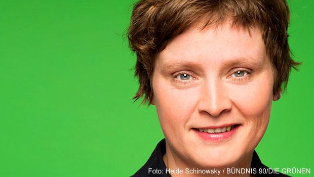 Landtagsabgeordneten Heide Schinowsky