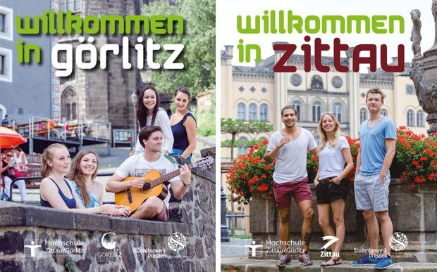 Willkommensbroschüre für Studienanfänger der Hochschule Görlitz Zittau