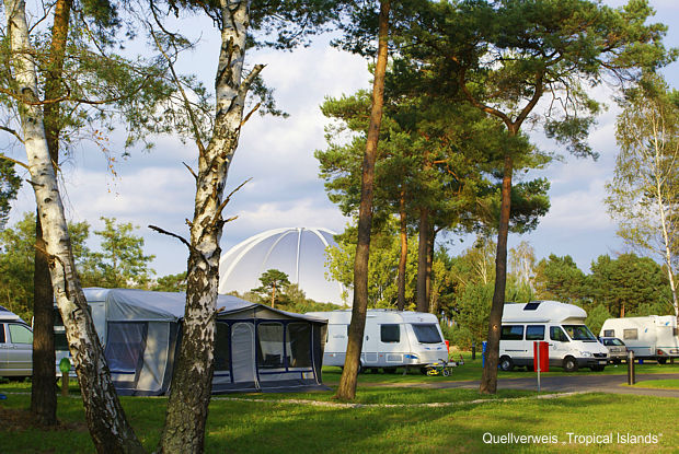 Campingland Brandenburg - Quellverweis Tropical Islands