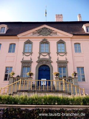 Kabinettssitzung im Cottbuser Schloss Branitz