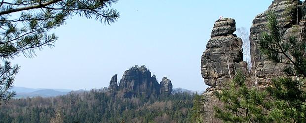 Elbsandsteingebirge bei Bad Schandau