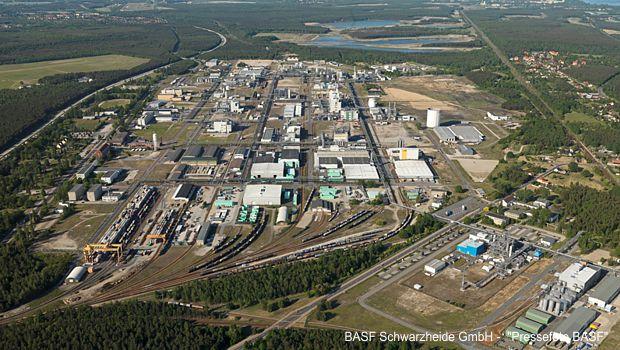 Chemiekonzern BASF erweitert Schwarzheider Standort