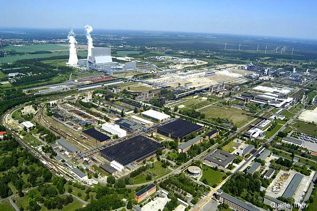 Industriepark Schwarze Pumpe - foto lmbv