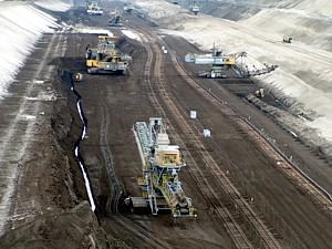 Tagebaus Welzow-Süd und Gefährdungspotenzials für Lieske